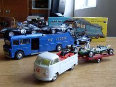 Automobile, Corgi Toys, Slot Cars, Courses, Racing, Trucks, Dioramas, Common Carrier, Sticker