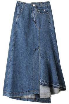 If you desire calm, try tucking mini skirt inside a One. Skirt Pants, Dress Skirt, Black Skirt Outfits, Look Jean, Lounge Outfit, Mode Jeans, Jeans Rock, Recycled Denim, Denim Outfit