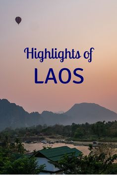 "If you're seeking a quieter Southeast Asian experience with fewer crowds, Laos is the answer. Get there before everyone else does (just don't ride their dreaded ""VIP"" buses). Click to read the full blog post."