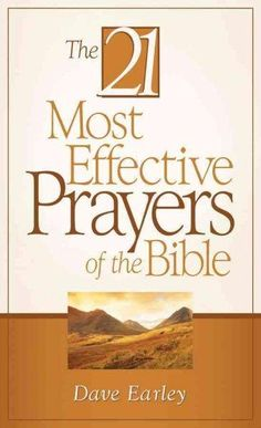 Want to know how to pray? Use the Word of God as your guide! This easy-to-read volume studies twenty-one heartfelt prayers from the Bible that produced results. The 21 Most Effective Prayers of the Bi
