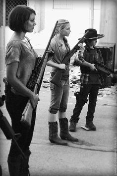SOLDIERS OF THE APOCALYPSE ~ MAGGIE, BETH AND CARL