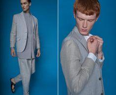 #lookbook #marcstone #SS2014 Summer Collection, Spring Summer, Blazer, Stone, Jackets, Men, Fashion, Down Jackets, Moda