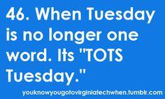 I miss TOTS Tuesdays!