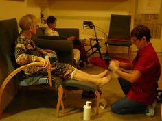 Nyt on vielä jalkojen hoito vuorossa.-Merja-