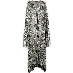 Roberto Cavalli silk leopard print dress (€2.170) ❤ liked on Polyvore featuring dresses, black, roberto cavalli, silk dress, roberto cavalli dresses, leopard dress and leopard print dresses