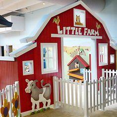 childrens educational environment farm museum exhibit design fabrication installation virginia