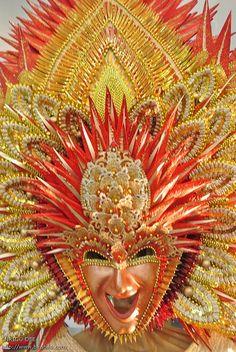 . Masskara Festival, Bacolod City, Festivals Around The World, Headpiece, Philippines, Brazil, Around The Worlds, Dance, Top