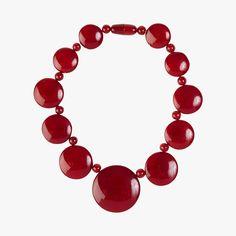 Collier rouge - MARION GODART #LeBonMarche #tendance #trend #confort #zone #clothes #fashion #mode #vetements #style #outfit #women #femme #bijoux #bijou #jewels #collier #red