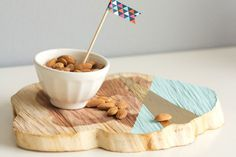 Amp up your party with this DIY wood serving board.
