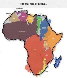 Africa Is Enormous - The Meta Picture