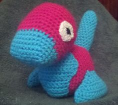 Porygon was pretty easy to make.   He is made put of a head, body, 2 legs, tail, breast plate, and 2 eyes.   Porygon is only the beginnin...