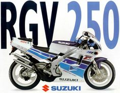 Suzuki RGV 250. VJ 22, M series. One of the closest things to a factory racer ever put in the hands of the public by a manufacturer that could be registered for road use.