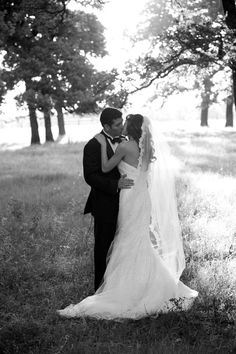 Love this picture...so classic. Also love that veil (without the thick lace edge)