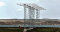 The New HAARP antennas in the Falkland Islands began to Operate