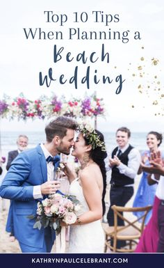 Although a beach wedding brings with it a whole range of extra challenges, marrying your forever person next to the beauty of nature can be magical. If you have planned everything carefully, you will have a wedding day alongside the ocean you'll remember forever.
