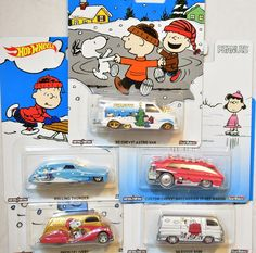 Hot Wheels 2016 Pop Culture Series Peanuts /'66 Dodge A100 with Real Riders Look