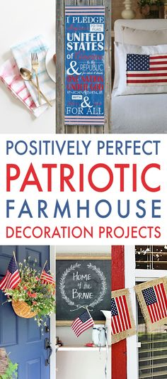 587 Best Patriotic Decorations Images In 2018 Flags Crafts Party