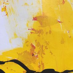 "Detail of ""Yellow Red Black 01 (paper) - Come see this painting (plus 44 others!) at the Gam Gallery on August at my much anticipated first SOLO exhibition. Abstract Expressionism, Abstract Art, Art Techniques, Red Black, Vancouver, Modern Art, Fine Art, Colour, Texture"