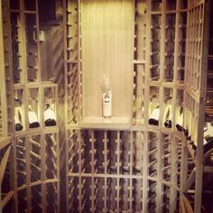 Sapele Mahogany Dimmable Led Led Lighting Wine Cellars Forward Sapele