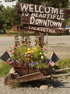 Talkeetna, Alaska. I remember exactly where this is!