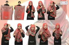gambar hijab tutorial