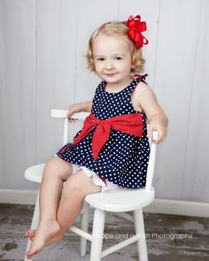 Baby and Toddler Dress and Top Pattern  sundress or par tiedyediva, $7.95