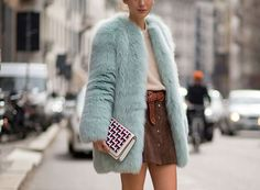 10 Ways to wear a suede skirt this Autumn