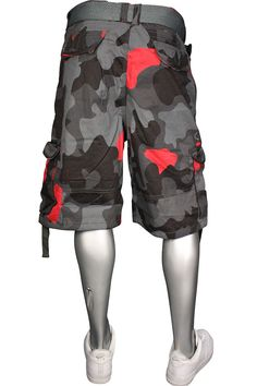 41cc095470abb6 Jordan Craig Timeless Apparel Cargo Shorts Sz. 30 Ash Red  35.00