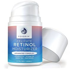 Foxbrim Retinol Cream  Advanced Complex Face Moisturizer  AntiAging Cream With Natural  Organic Ingredients  17OZ >>> Check out this great product.