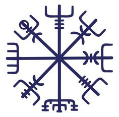 "Vegvisir - The Icelandic word literally means 'guidepost': It is a Norse protection symbol, intended to help the bearer find their way through bad weather. ""if this sign is carried, one will never lose one's way… even when the way is not known"". It is a Norse protection symbol. In modern popular culture the Vegvísir is often called Runic Compass or See the Way."