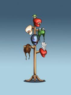 The many hats of Mario