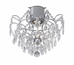 - Bling-bling for bathroom. Led Ceiling Spotlights, Flush Ceiling Lights, Sloped Ceiling, Bath Storage, Dar Lighting, Colorful Interiors, Twists, Chrome, Chandelier