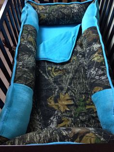 MoSSY oaK TuRQuoiSe BaBY BeDDiNG by ITBURNSBABY on Etsy, $245.00