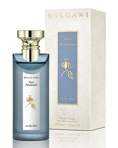 The shimmer of lavender and violet, underscored with precious iris: Bulgari's Eau Parfumée Au Thé Bleu offers deep, delicate floral notes for a unique sensation of balance and well-being. Inspired by Fujian China blue tea, grown high in the Himalayas.  Cultivated in a land of snowy peaks and infinite blue skies, precious Blue Tea inspired Bulgari to create the ethereal Eau Parfumée Au thé Bleu.  Eau Parfumée Au Thé Bleu Eau de Cologne, 5 oz.   by Bvlgari at Neiman Marcus.