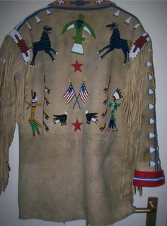 Native American Clothing, Native American Indians, Beaded Jacket, Native Art, Sioux, Nativity, Leggings, Sweaters, Jackets