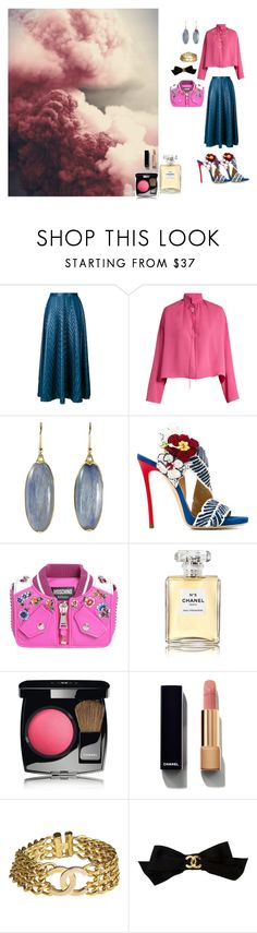 """dream"" by gata-del-rey ❤ liked on Polyvore featuring Golden Goose, Balenciaga, Dsquared2, Moschino and Chanel"