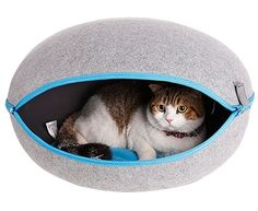 An escape pod for your futuristic feline companion.   27 Clever Products That Look Like They're From The Future