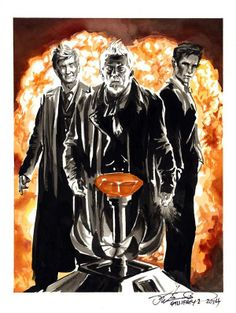 """The Day of the Doctor"" by J.K. Woodward"