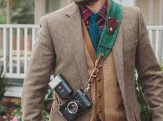 Ruck Strap | Duck Canvas and Leather Camera Strap
