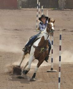 Kicking up dust at the Hawaii High School Rodeo Association event ... Pole Bending, Hawaii News, Horse Riding Clothes, All About Horses, Barrel Racing, Horseback Riding, Rodeo, Equestrian, Pony