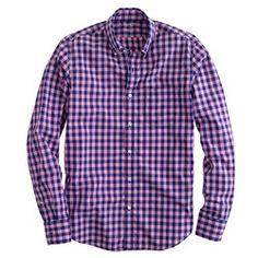 $64.50Secret Wash shirt in bright gingham
