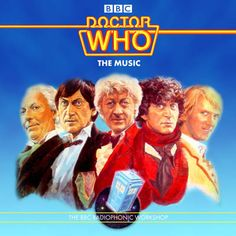 Doctor Who - The Music I & II BBC Radiophonic Workshop (80's)