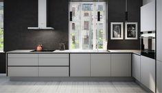 Svane kitchen and their idea of 2015 kitchen trends. Interior Architecture, Interior Design, Kitchen Trends, Living Room Kitchen, Sweet Home, Kitchen Cabinets, Modern Kitchens, Small Kitchens, Furniture