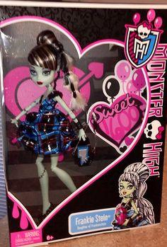 Monster High Sweet 1600 Frankie Stein 2013 Release