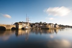 Golfe du Morbihan - Le Port de Saint Goustan - Auray http://bretagne-tele.fr/tag/auray