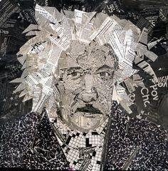 einstein self portrait collage by hamptonrodriguez.deviantart.com on @deviantART