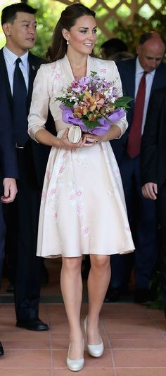 Kate Middleton's 2012 tour dresses: Pictures of all the Duchess of Cambridge's outfits and accessories - 3am  Mirror Online