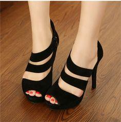Wholesale Women sandals Korean style sexy Roman shoes CZ-4914 - Lovely Fashion
