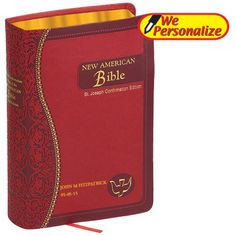This Confirmation Bible makes for a great gift! The Bible is made of supple material, with blind embossing, foil stamping, precise stitching and decorative gilding combining to provide an exquisite and unique package for the Word of God. Confirmation Gifts For Boys, Catholic Confirmation, Catholic Bible, Catholic Gifts, Religious Gifts, Catholic Traditions, Catholic Sacraments, St John Paul Ii, Saint John
