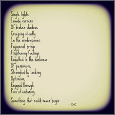 Something That Could Never Be. #poetry #poem #depression #courtneymarie #potential #dreams